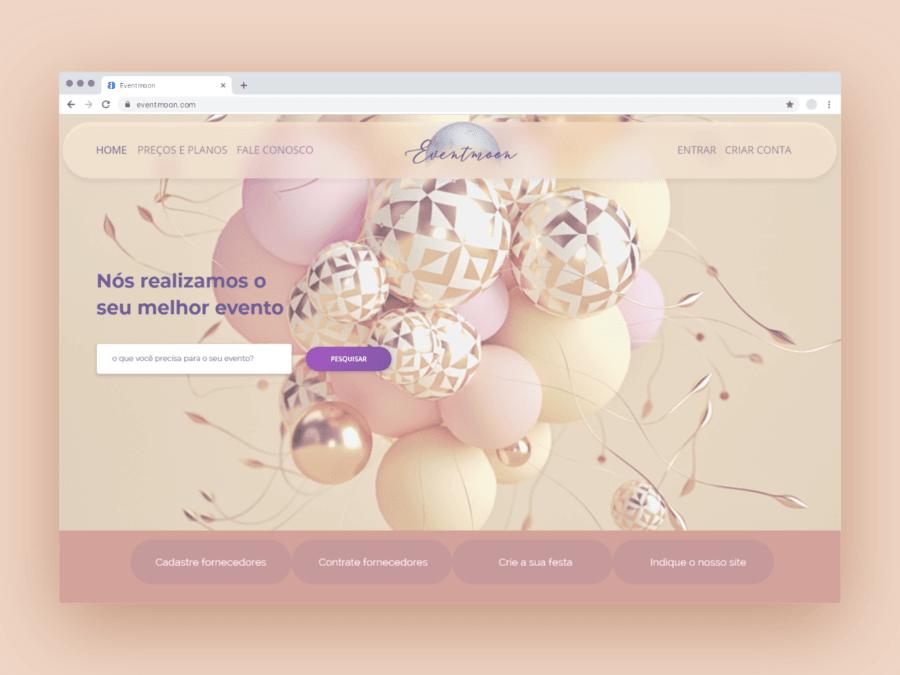 Eventmoon – Homepage