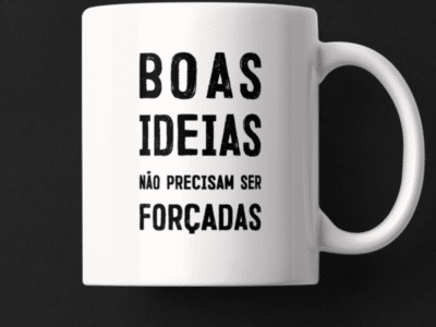 Caneca Boas Ideias